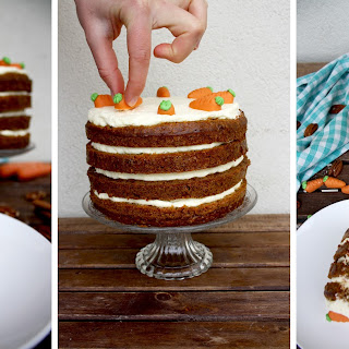 Super Moist Carrot Cake with Vanilla Cream Cheese Frosting.