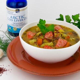 Omega-3 Italian Fish Stew with Saffron Recipe