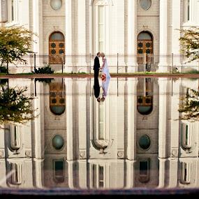 by Aim Huston - Wedding Bride & Groom ( love, templewedding )