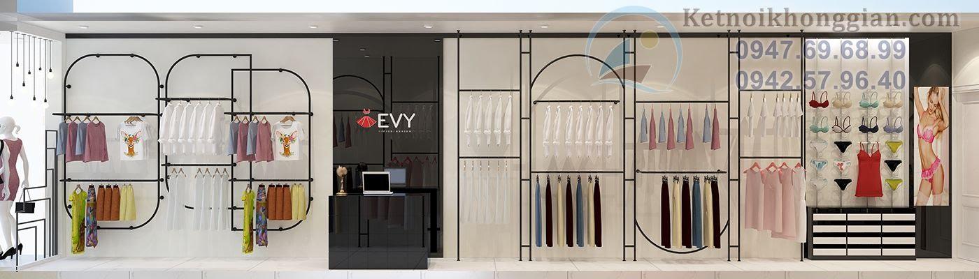 thiết kế shop thời trang hiện đại 1