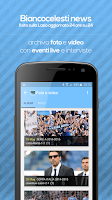 Screenshot of Biancocelesti News (Lazio)