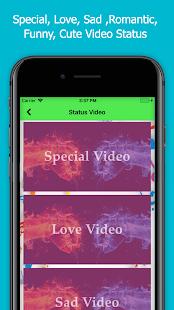 Latest video status - náhled