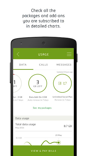 My Etisalat UAE - screenshot