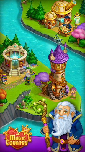Magic City: fairy farm and fairytale country for Android apk 4