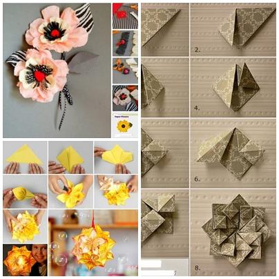 DIY Paper Flower Craft