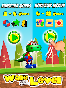 Dino Tim Vollversion: Spiele Formen Farben Screenshot