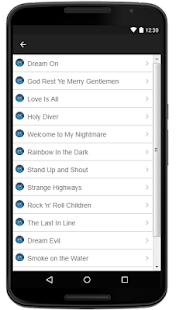 Ronnie James Dio Lyrics Music - náhled