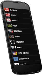 LiveStream TV - Watch TV Live- screenshot thumbnail