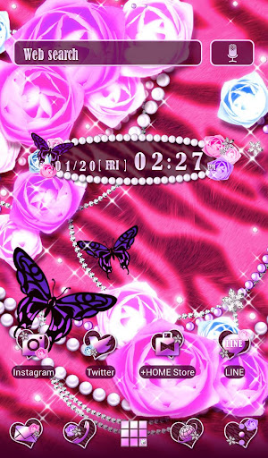 Pink Wallpaper Glamorous Rose 1.0.3 Windows u7528 1