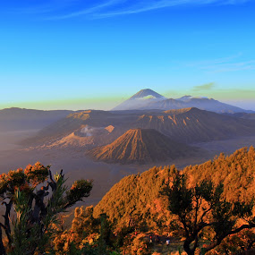 mountception.. bromo.. by Oddy Widyantoro - Landscapes Mountains & Hills