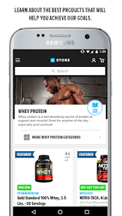 Bodybuilding.com Store- screenshot thumbnail