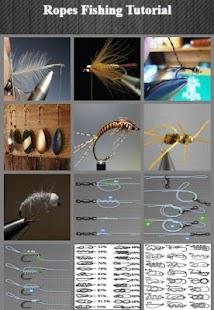 Rybářské výcvikové lano - náhled