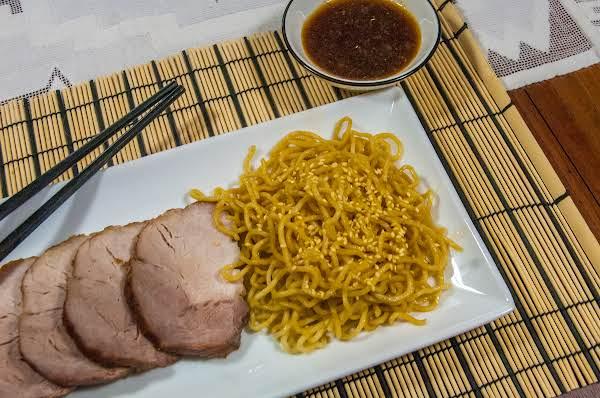 """Asian Oven-roasted """"red"""" Pork Tenderloin Recipe"""