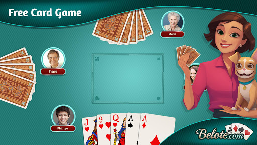 Belote.com - Free Belote Game 2.1.2 screenshots 3