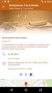 Restaurante Tres & Medio - náhled