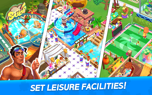 My Little Paradise : Resort Management Game android2mod screenshots 11