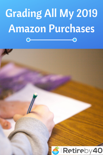 Grading All My 2019 Amazon purchases