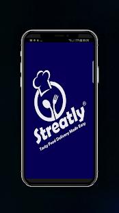 Streatly Partner App - náhled