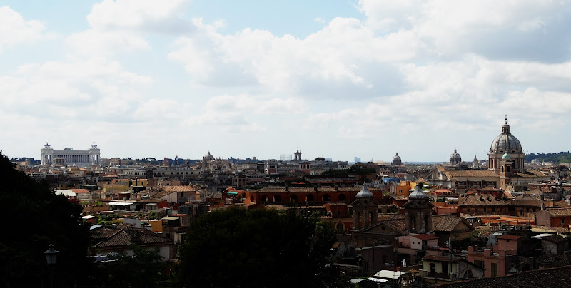 Roma dal Pincio di luciano_tronati