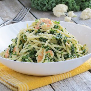 Shrimp Kale Pasta