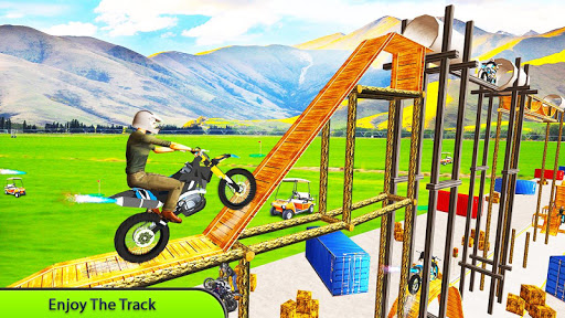 Tricky Bike Stunt Master Crazy Stuntman Bike Rider 1.0 screenshots 3