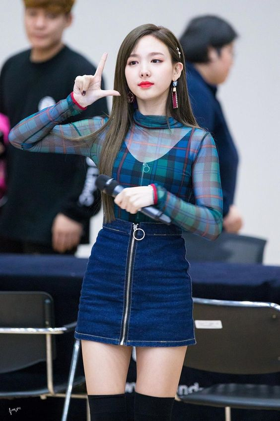 nayeon plaid 49