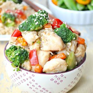 Velveted Chicken & Veggie Stir-Fry