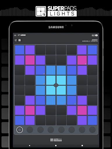 SUPER PADS LIGHTS - Your DJ app 1.6.9.5 Screenshots 7