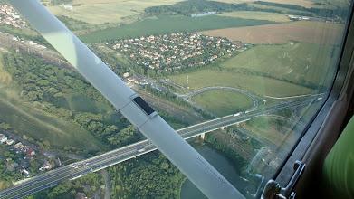 Photo: Křížení Průmyslové s železničním koridorem směr Kolín