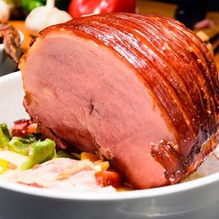 Praline Mustard-Glazed Ham