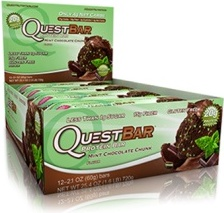 QuestBar Protein Bar - Mint Chocolate