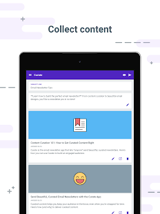 Curate – Email newsletters- screenshot thumbnail