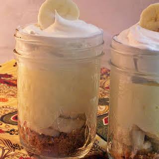 Last Minute OMG We Have Visitors Banana Cream Pie Parfaits.