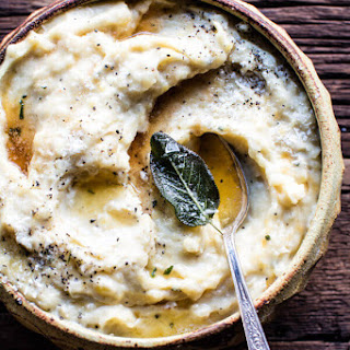 Crockpot Three Cheese Mashed Potatoes. Recipe