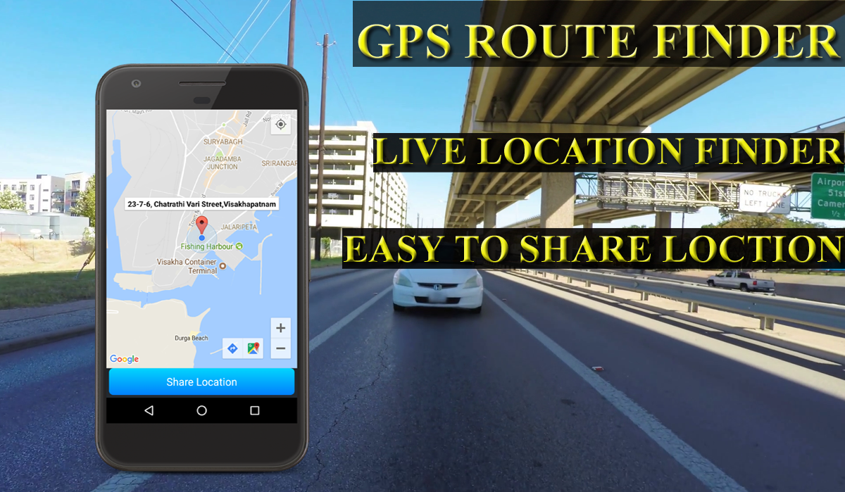 GPS Route Finder-Live Location Tracker- screenshot