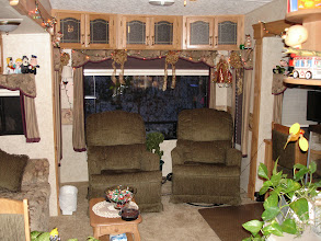 Photo: Inside rear of RV (Picture taken while living in it)