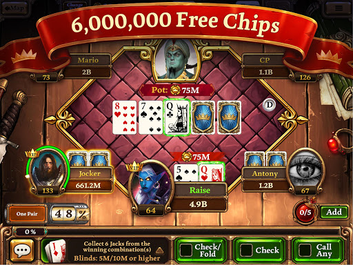Scatter HoldEm Poker - Texas Holdem Online Poker  screenshots 1