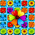 Flower Blossom Jam - Fun Match 3 & Free Match Game icon