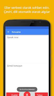 Google Çeviri Screenshot