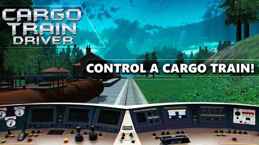 Cargo Train Driver 3D