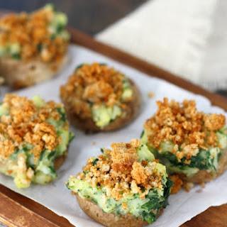 Vegan Stuffed Mushrooms..