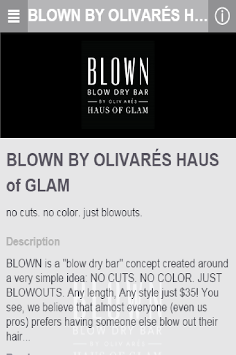 Blown By Olivares Haus of Glam