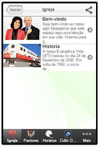IEV - Igreja Evangélica Vida screenshot 2