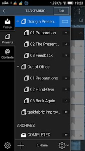 Taskfabric - To Do & Projects screenshot 4