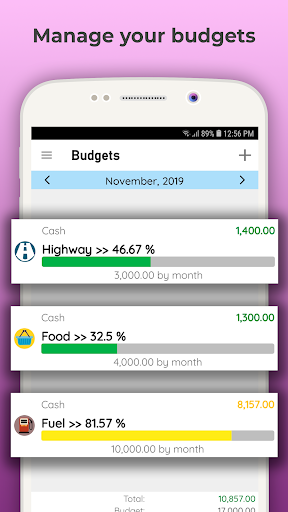Daily Expenses License screenshots 6
