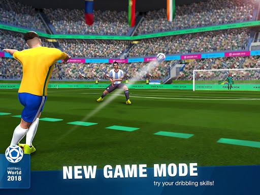 FreeKick Soccer World 2018 1.6.6 gameplay | by HackJr.Pw 10