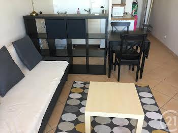 Studio meublé 23,91 m2