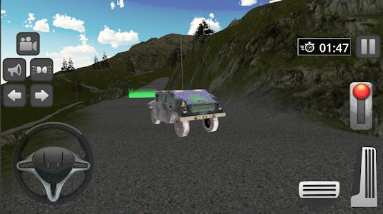 Mountain Jeep Driver-Adventure Drive game screenshot