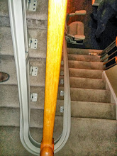 Photo: Bruno Curved Stairlift NJ