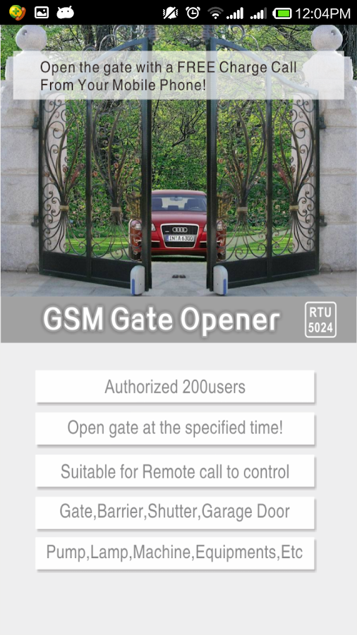 Gsm Gate Garage Door Opener